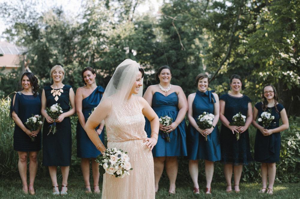 Diane & Her Bridesmaids - Pittsburgh Wedding Photography
