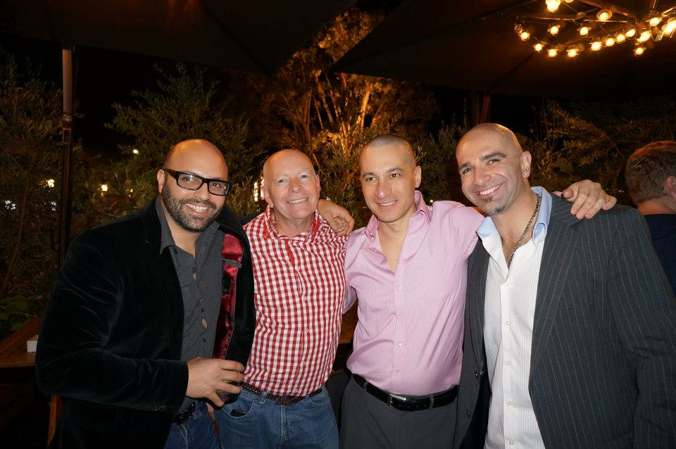 WaterNight friends go bald for clean water at NamesCon