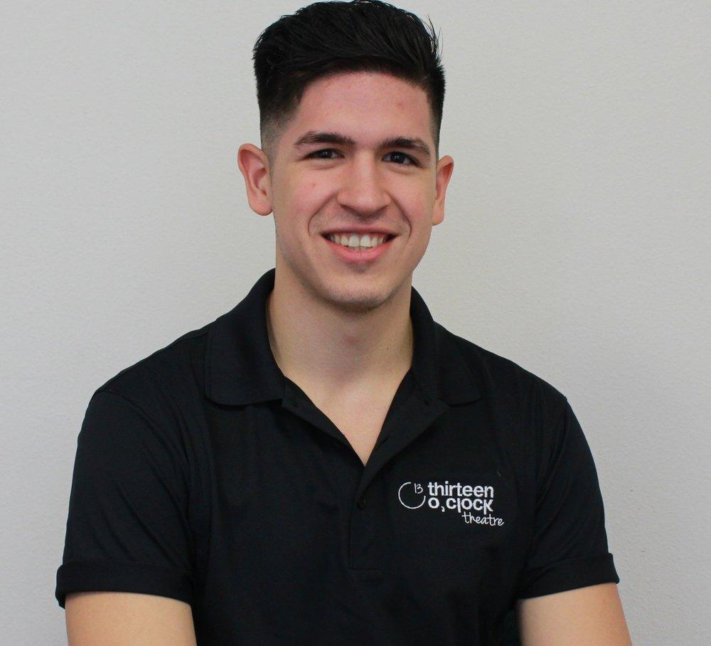 Diego Gonzalez Current student, BFA Musical Theatre,Abilene Christian University
