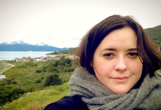 Heather Molina in Ushuaia.