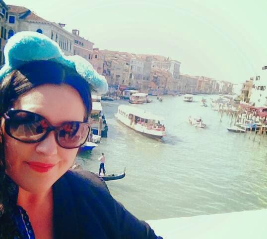 Heather Molina in Venice.