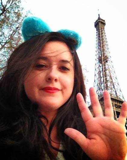 Heather Molina in Paris. Meh.