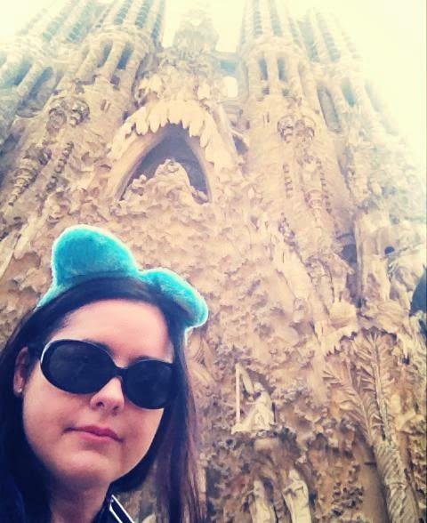 Heather Molina in Barcelona.