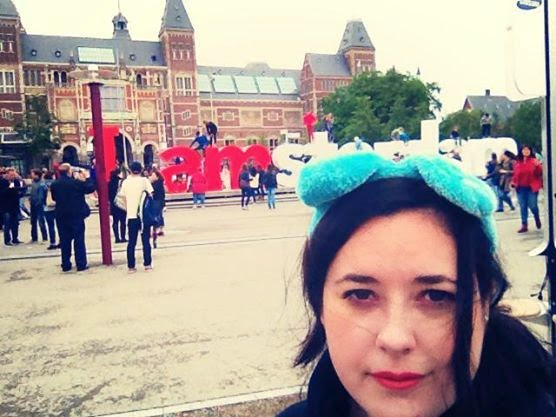Heather Molina in Amsterdam.