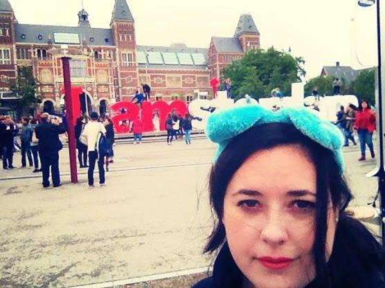 Heather Molina in Amsterdam.