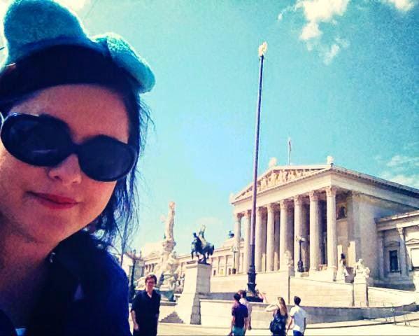 Heather Molina in Vienna.
