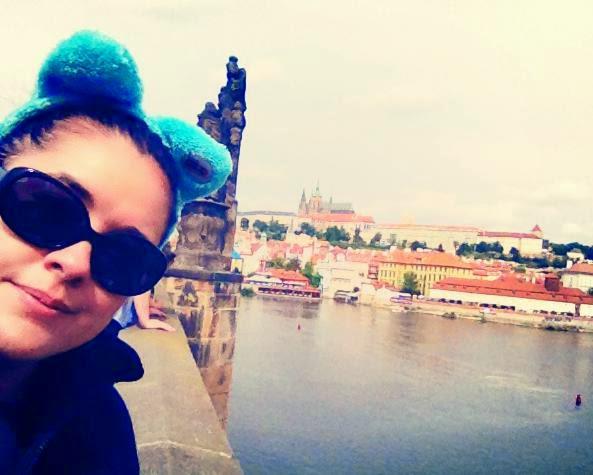 Heather Molina in Prague.
