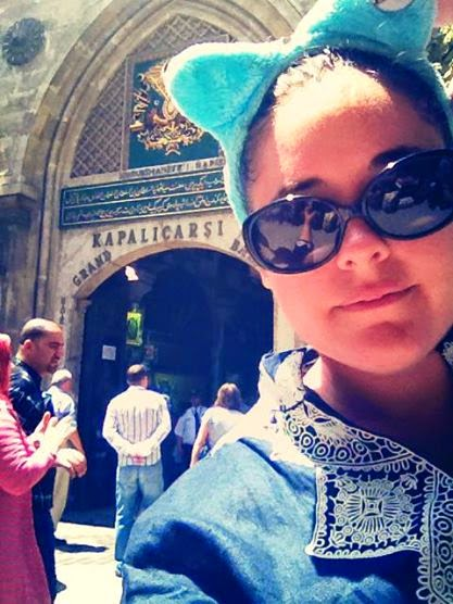 Heather Molina in Istanbul.