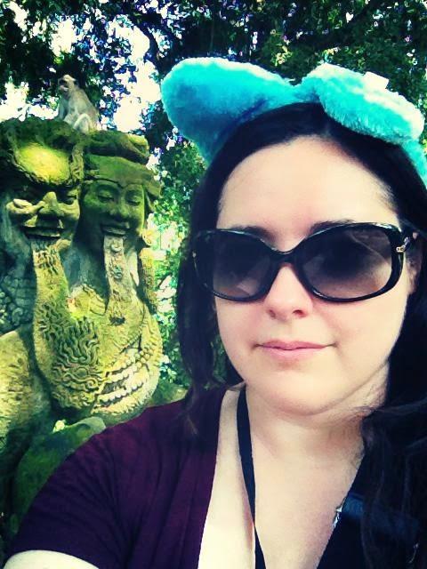 Heather Molina in Bali.