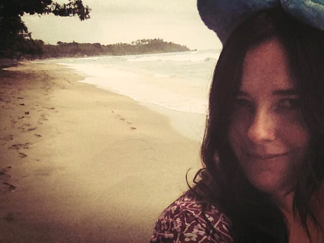 Heather Molina in Lombok.