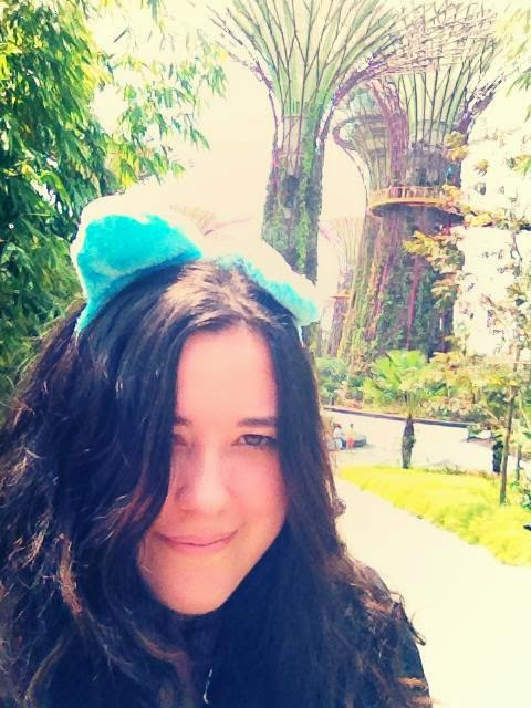 Heather Molina in Singapore.