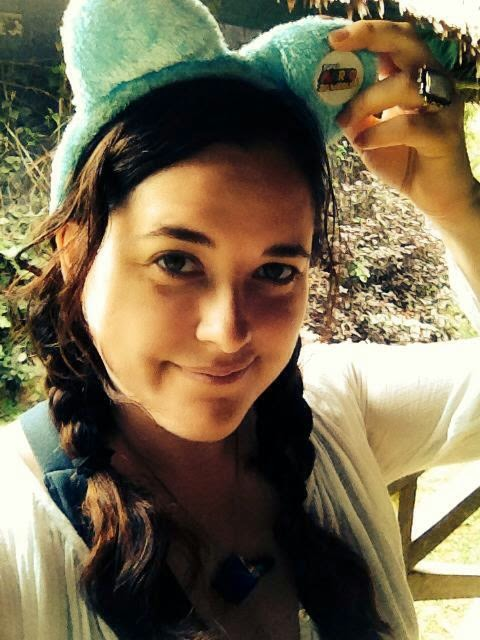 Heather Molina in the Amazon jungle.
