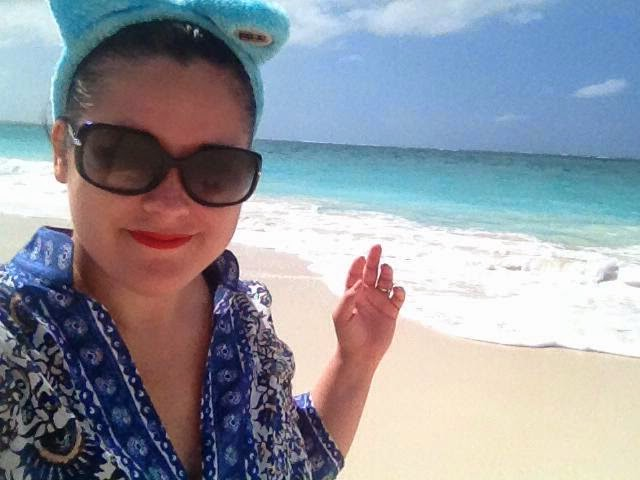 Heather Molina in the Turks and Caicos.
