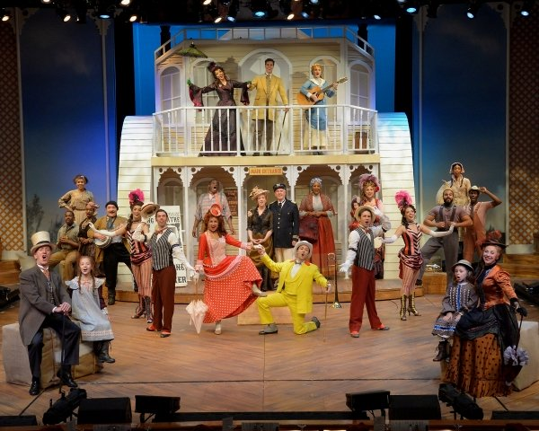 BWW REVIEWS: SHOWBOAT AT WESTCHESTER BROADWAY THEATRE  Broadway World - By Kathryn Kitt - Oct 7, 2015   Read More