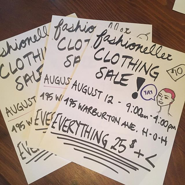 Come to my clothing sale this Saturday 9-4!!!!!