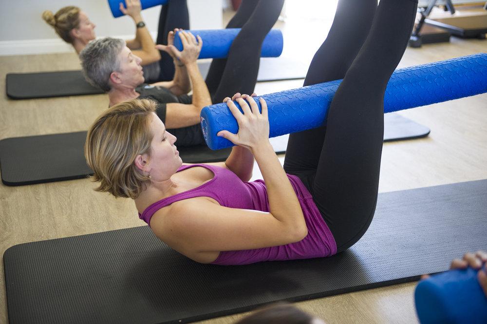 Orange County Pilates Reformer Group Fitness Classes