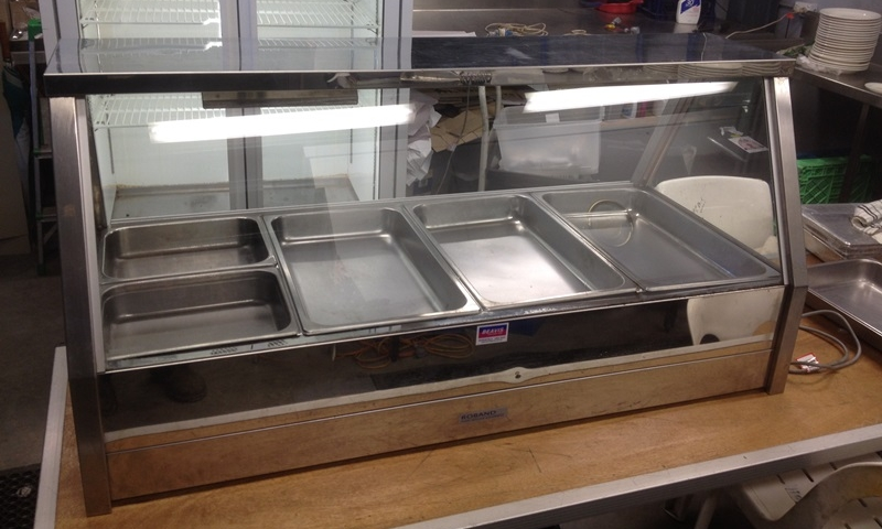 Large Glass Front Bain Marie