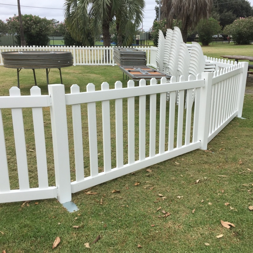 White picket fencing - Beautiful White picket fencing for any occasion!