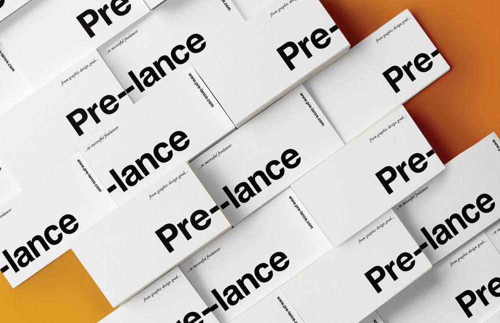 Pre-lance branding