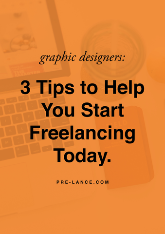 3 Steps to Getting Started as a Freelance Graphic Designer
