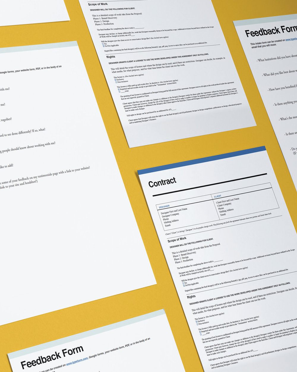 Toolkit Templates for Designers