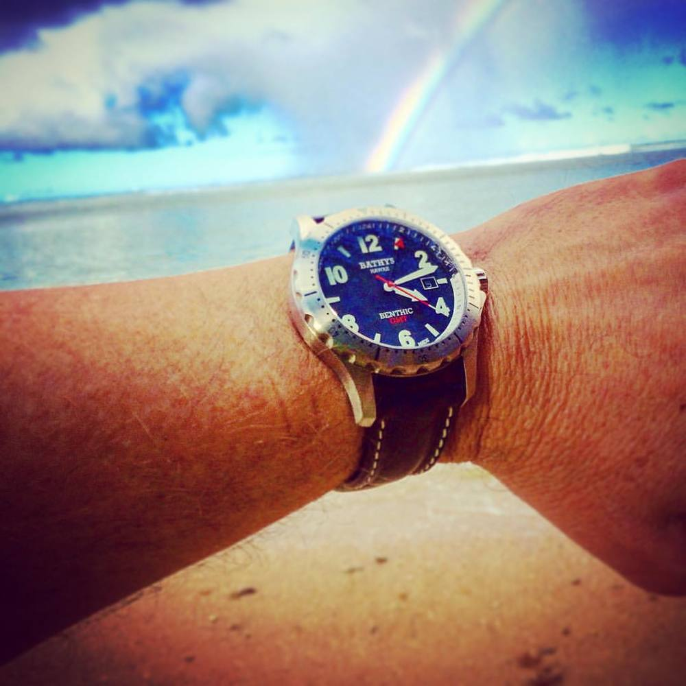 Despite what you may have heard on the internet, our watches do NOT come with a rainbow included. You must seek them out for yourself.