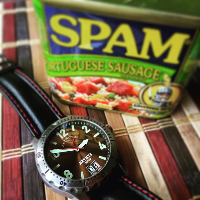 These are some of my favorite things #hawaiianclassic #bathyshawaii #watchesofinstagram #spam