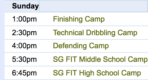 Visit  Functional Mini Camps  for technical training!