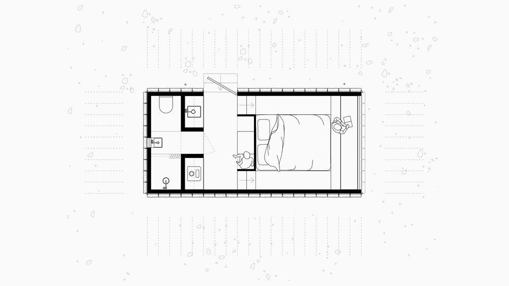 TRIAS STUDIO-SLATE CABIN-PLAN