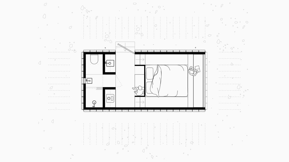 SYDNEY-RESIDENTIAL-ARCHITECT-TRIAS-STUDIO-SLATE CABIN-PLAN