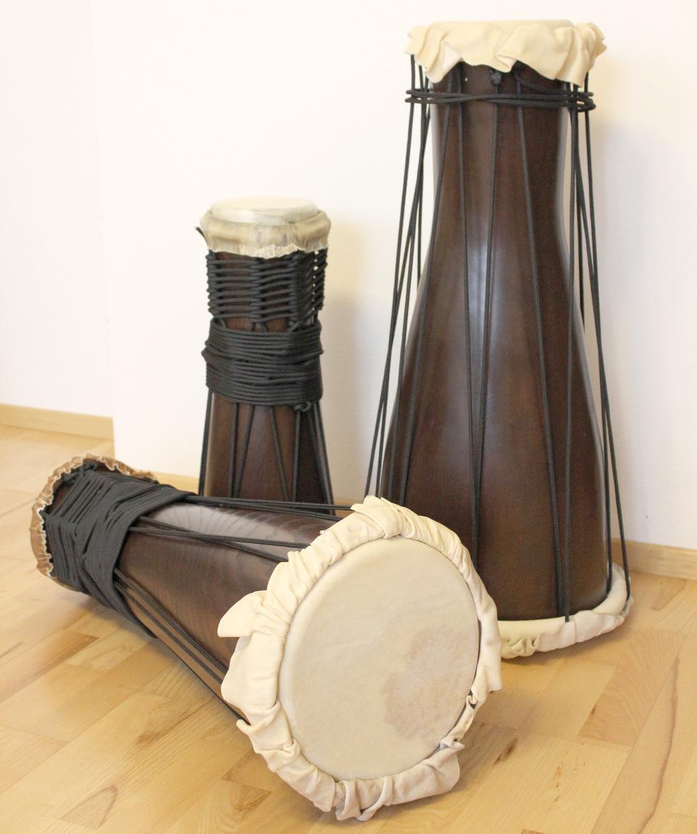 juego de bata, tambores bata, bata-set, set of bata drums, handmade bata drums, bata hecho a mano