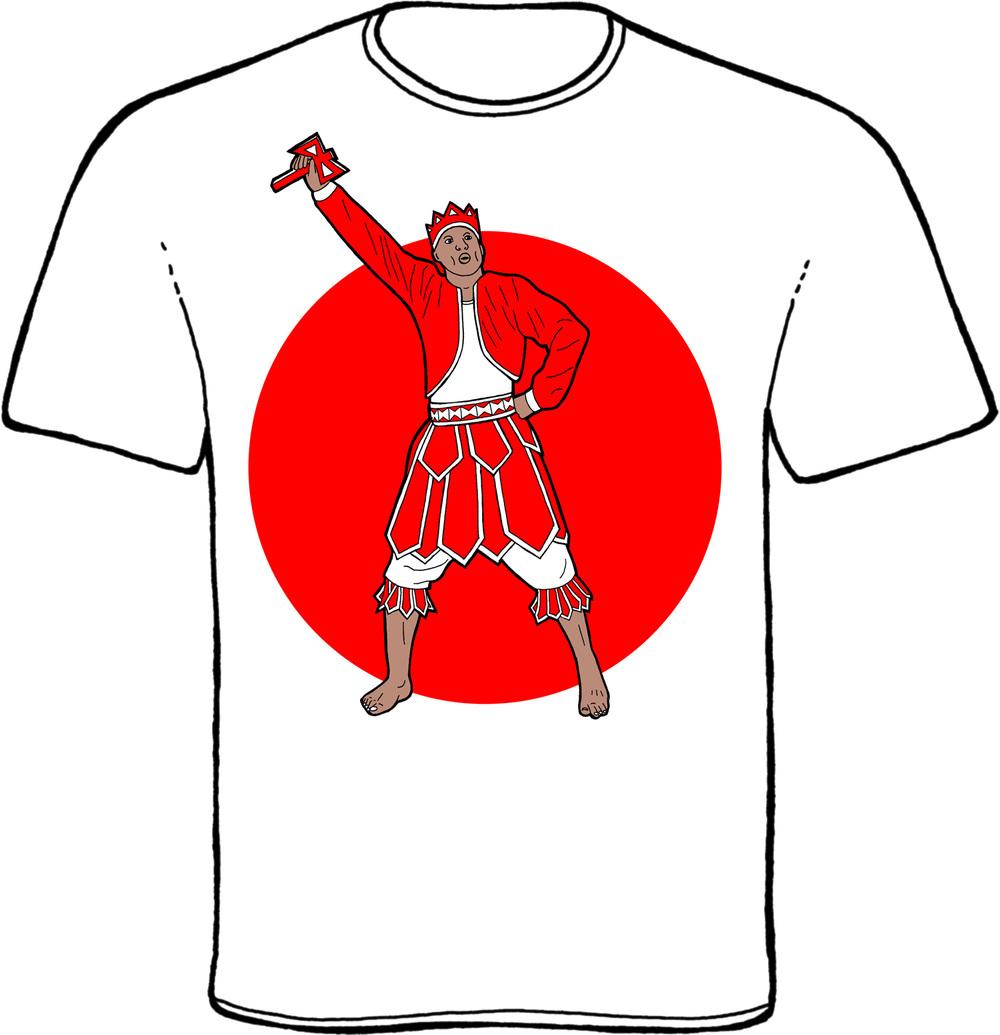 shango, chango, xango, sango, kabiyesi, kabiosile, oba koso, orisha, orixa, yoruba, t-shirt, design, drawing, artwork