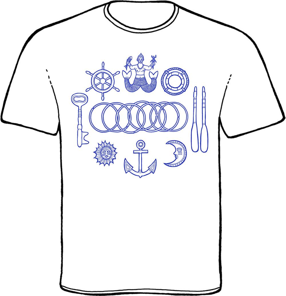yemaya, yemoja, t-shirt, orisha image