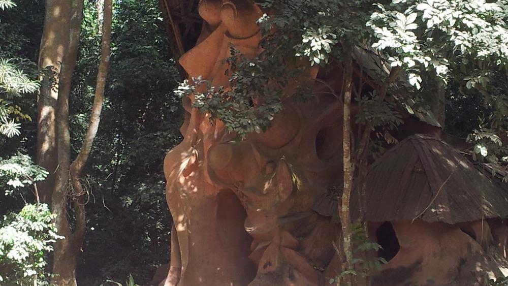 sacred grove of osogbo, susanne wenger, yoruba, orisha image, oshun, obatala