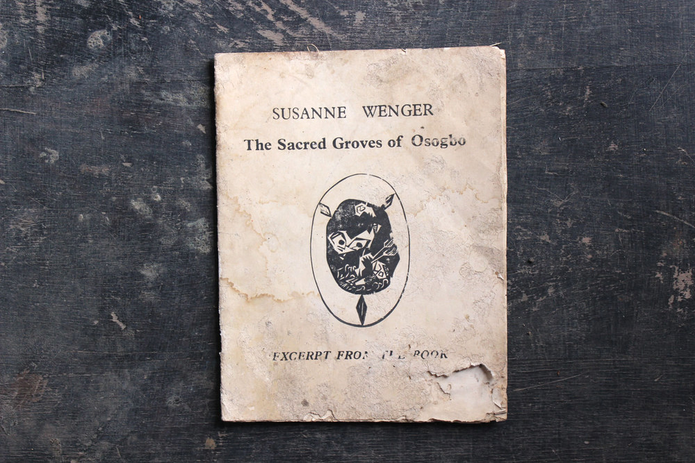 susanne wenger the sacred groves of oshogbo