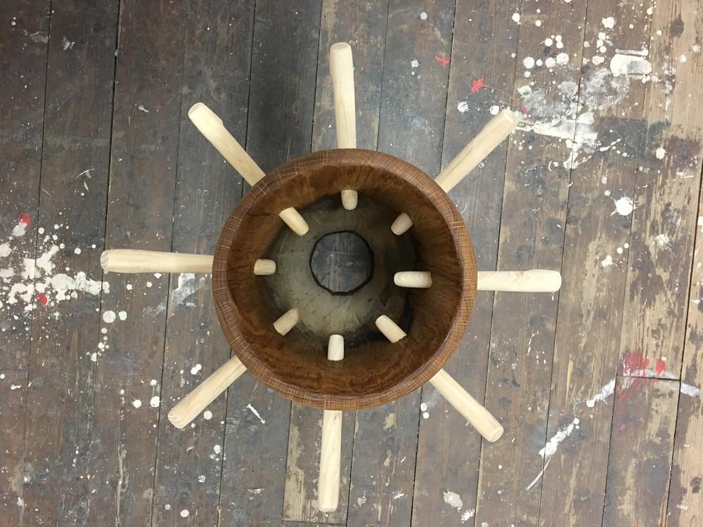 arara, rada, tambores, drums, peg drum tutorial, orisha image