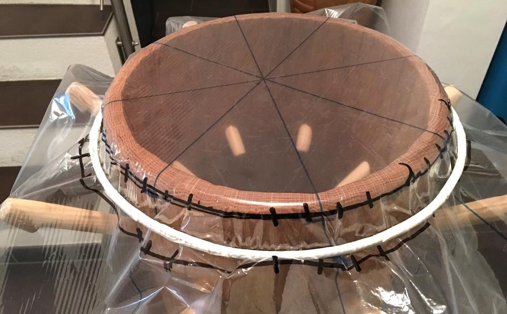 peg drums, arara, rada, tambores, orisha image