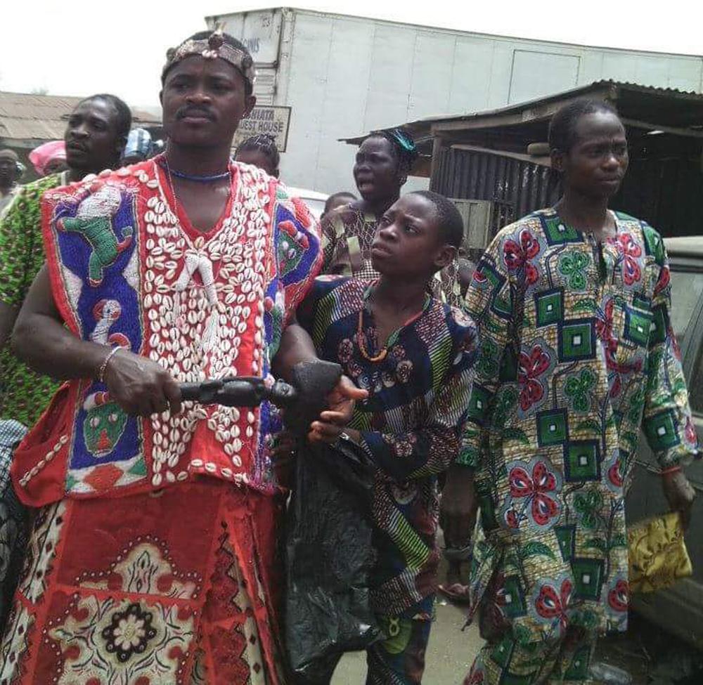 orisha, yoruba, sangosakin ajala, osogbo, susanne wenger