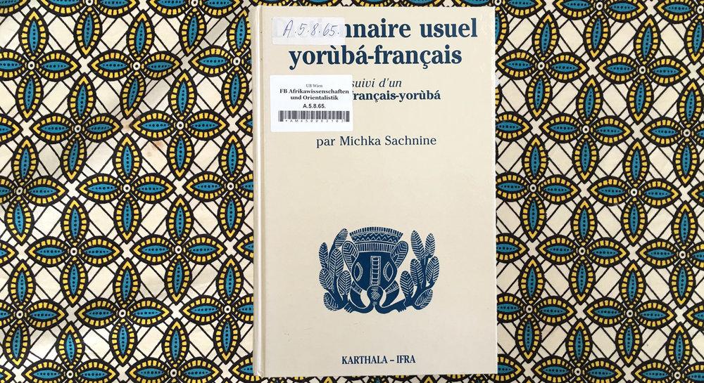 yoruba language, yoruba dictionary