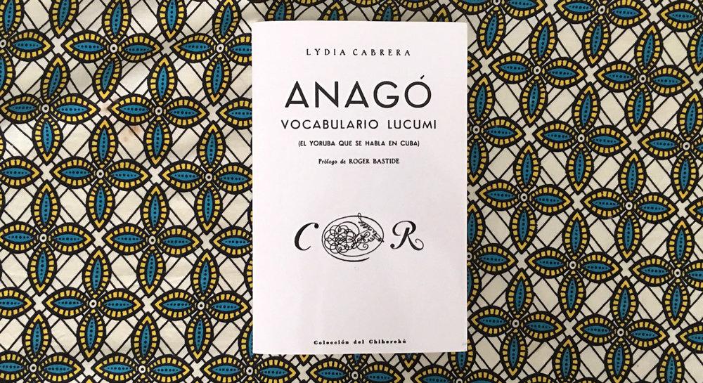 lydia carbera, anago, lucumi, lukumi, yoruba
