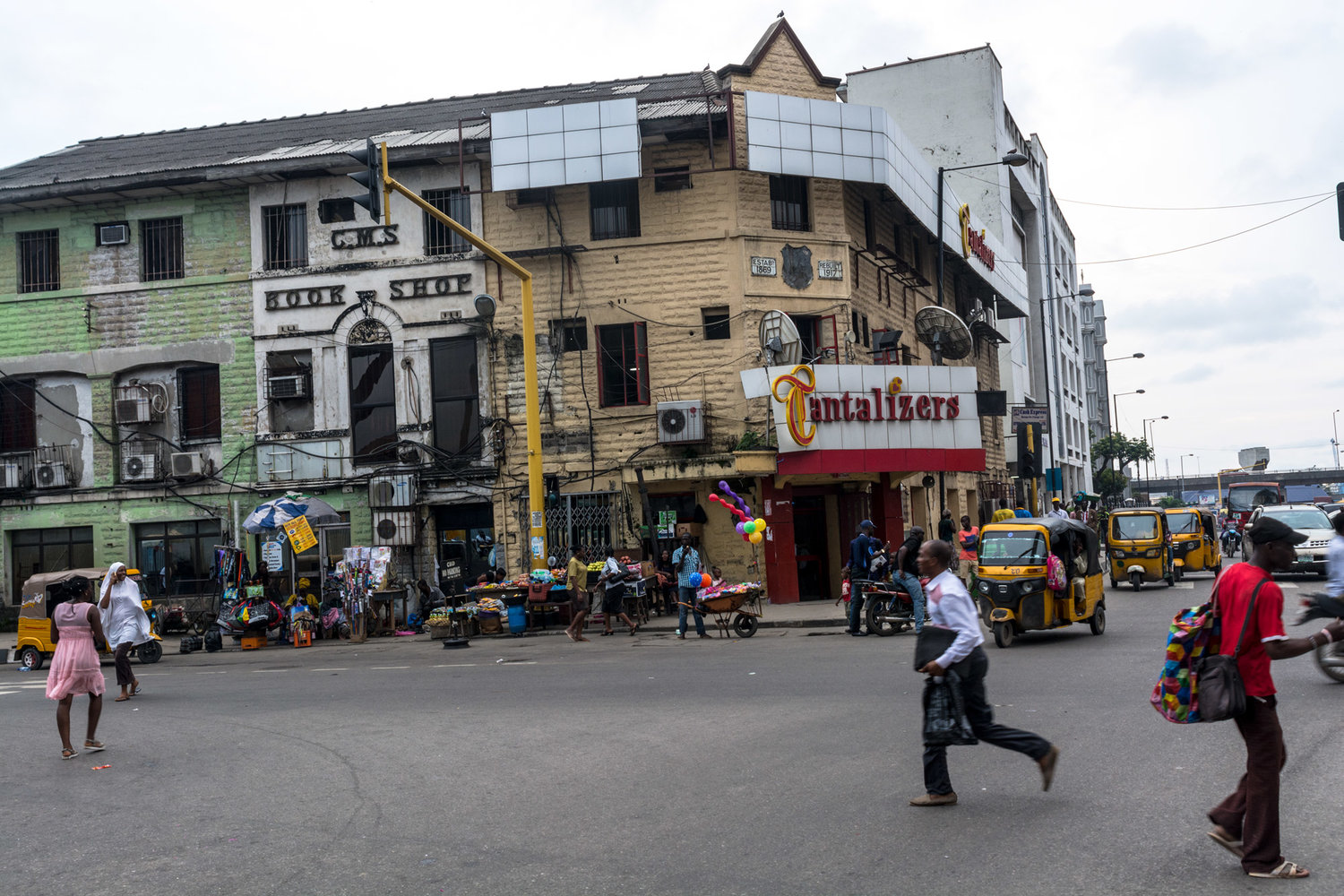 The Church Missionary Society Bookshop in Lagos, an important historic place for Yorùbá language studies. ©Aderemi Adegbite