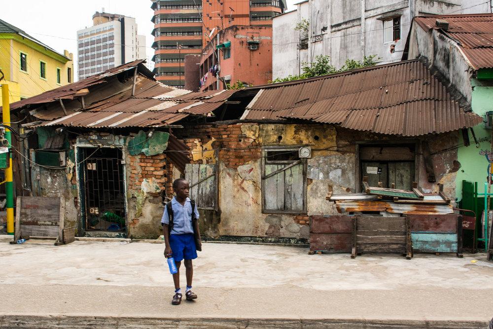 Street scene from Popo Aguda quarter in Lagos. ©Aderemi Adegbite