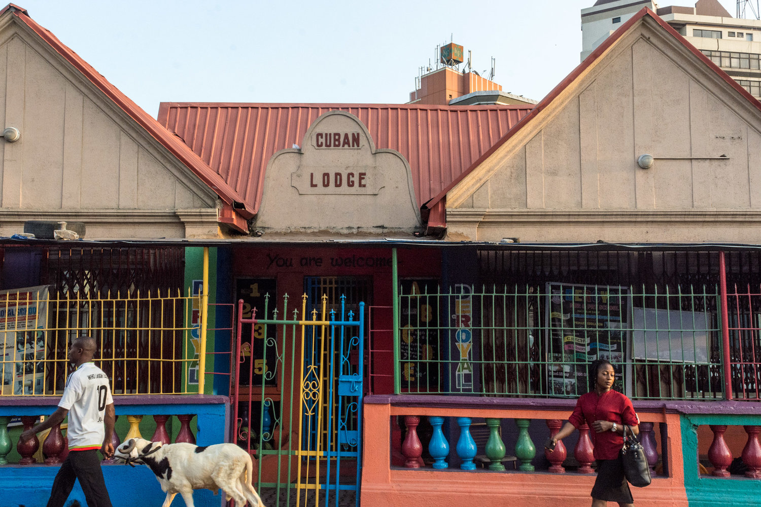 The Cuban Lodge in Lagos, built by Afro-Cuban Hilario Campos, 2016. ©Aderemi Adegbite