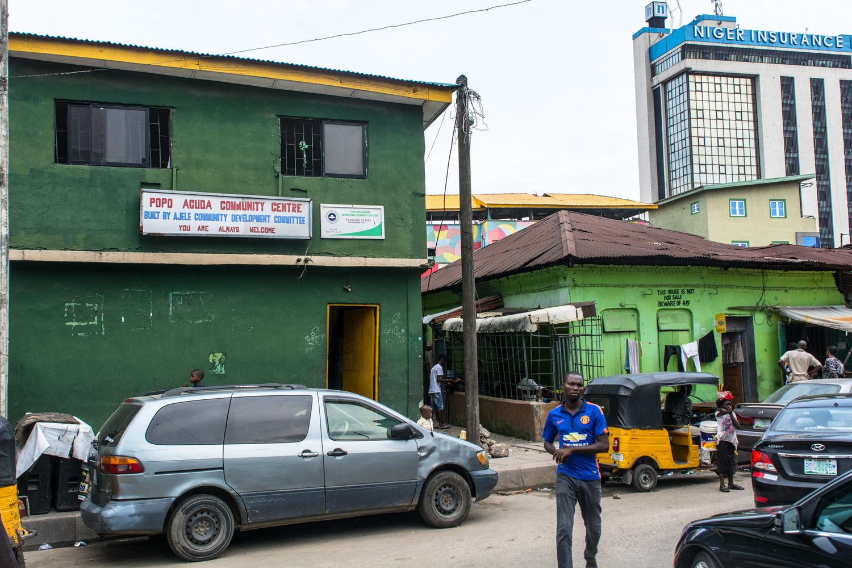 The Popo Aguda Community Center in Lagos. Visitors are always welcome. ©Aderemi Adegbite