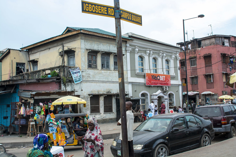 Anther view on Campos Square, Lagos.  ©Aderemi Adegbite