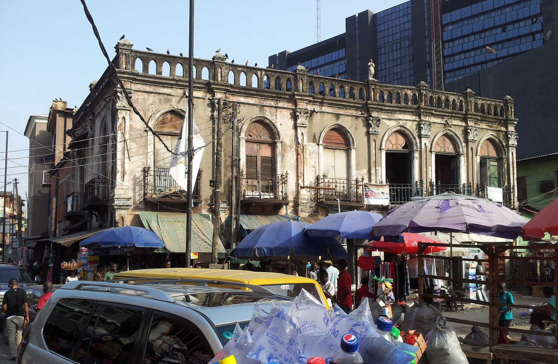 The Casa do Fernandez in November 2015, now completely demolished.