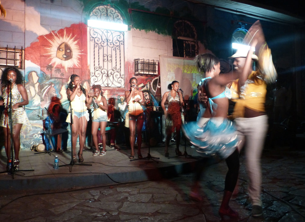 Popular dance show at the 'Casa del Caribe', photo:  Laurent Quevilly , CC  BY-NC 2.0