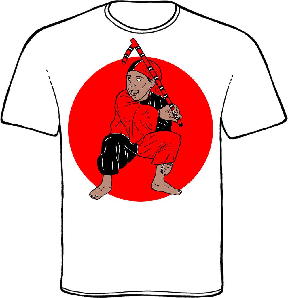elegba, eleggua, elegua, elegbara, orisha, yoruba, orisha t-shirt, laroye, garabato, santeria, lukumi, conjunto folklorico nacional de cuba