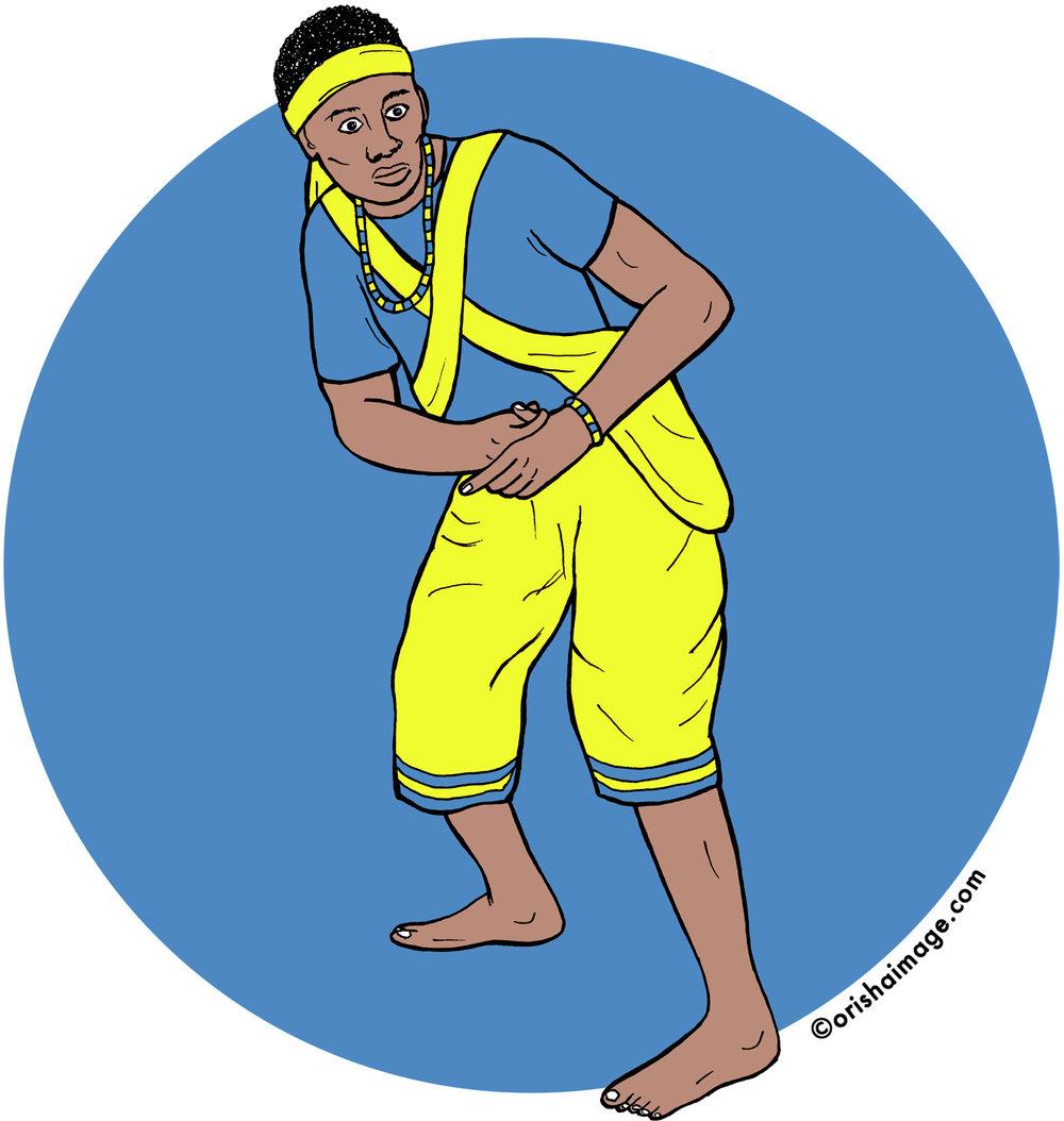 oshosi, ochosi, oxosi, orisha, yoruba, santeria, oricha, irunmole, orisha t-shirt, orisha image, shango, yemaya, obatala, oshun, elegba,