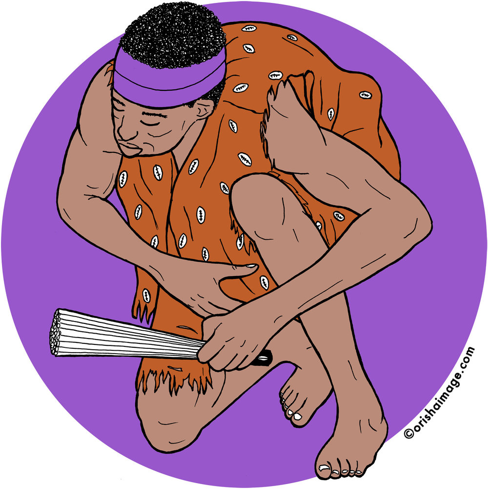 babalu aye, babaluaye, obaluwaye, omolu, babaluaiye, obaluaye, orisha, yoruba, santeria, oricha, irunmole, candomble, orisha t-shirt, orisha image, shango, yemaya, obatala, oshun, elegba,